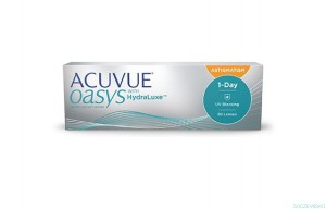 NOWOŚĆ ACUVUE® OASYS 1-DAY FOR ASTIGMATISM