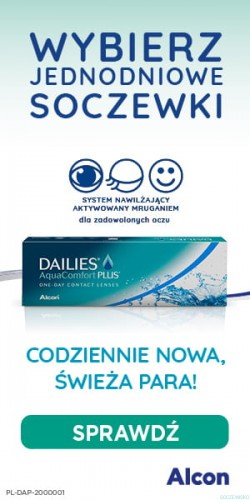 DAILIES AquaComfort Plus 30szt