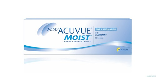 1-DAY ACUVUE® MOIST for ASTIGMATISM 30 szt