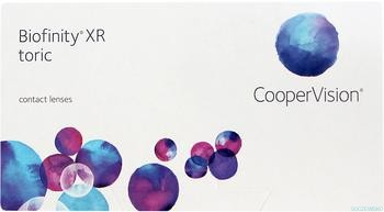 Biofinity XR toric | CooperVision Poland